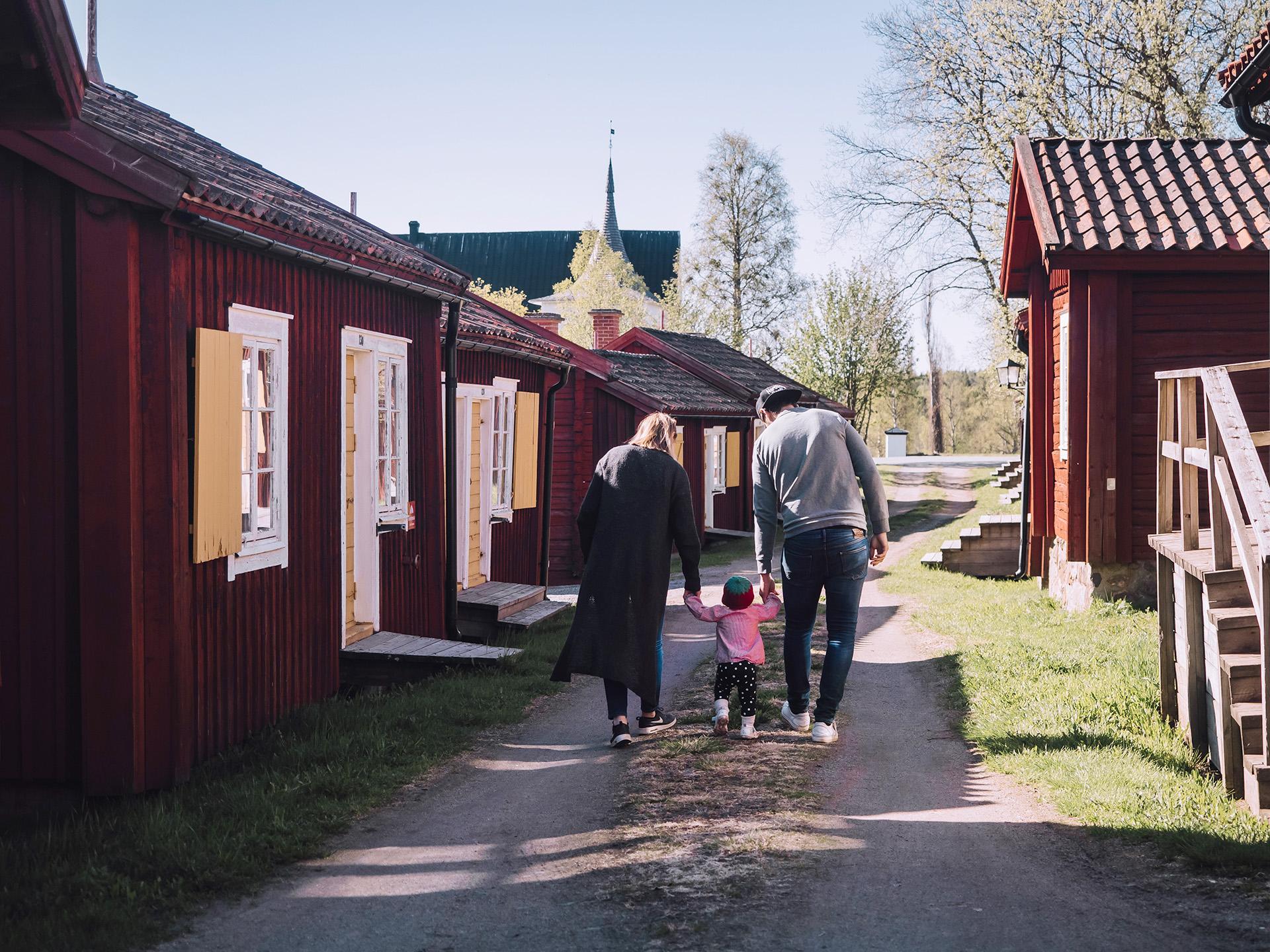 Lövångergården i Lövånger Kyrkstad