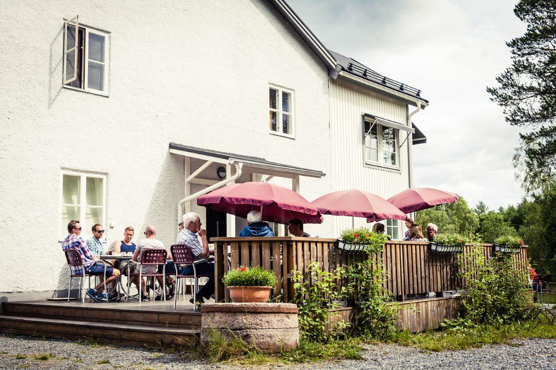 Skråmträsk Kvarn, KRAV-märkt café i Norrland