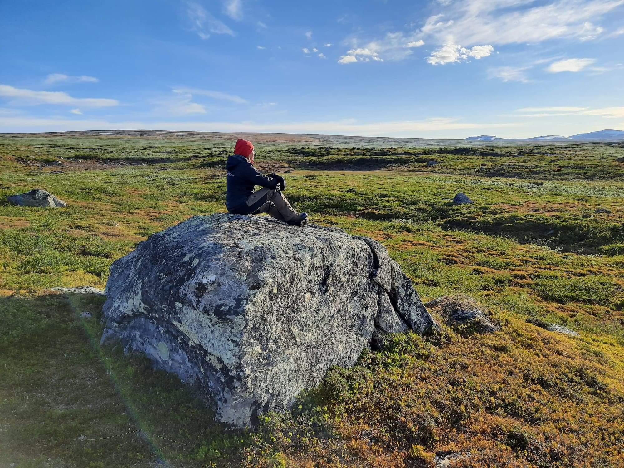 Natur utsikt i Lapland