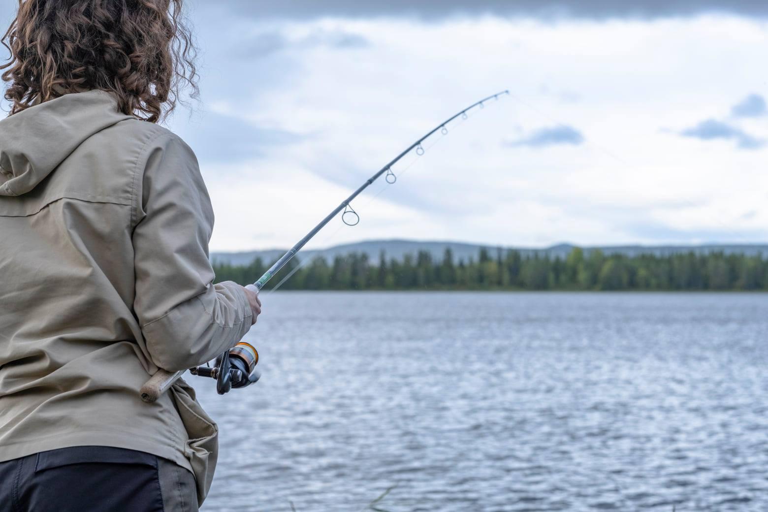 Fiske med Pike Fishing Dorotea